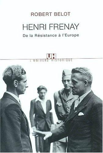 Henri Frenay by Robert Belot