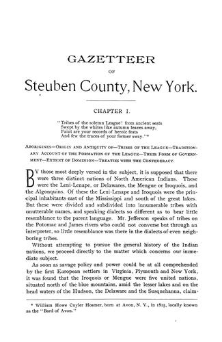Historical gazetteer of Steuben County, New York, with memoirs and illustrations. by Millard Fillmore Roberts