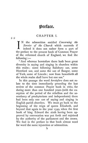 The ancient liturgy of the Church of England, according to the uses of Sarum, York, Hereford, and Bangor, and the Roman liturgy arranged in parallel columns with preface and notes by Catholic Church