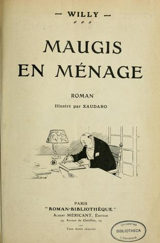 Maugis en ménage by Henry Gauthier-Villars