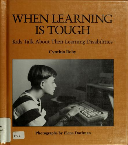 When learning is tough by Cynthia Roby