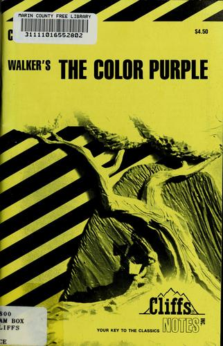 The color purple notes by Gloria Rose