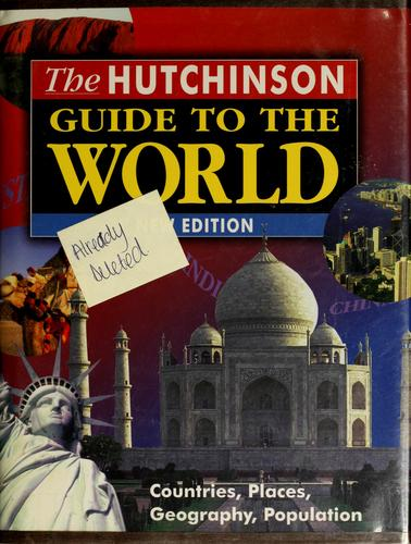 The Hutchinson guide to the world by