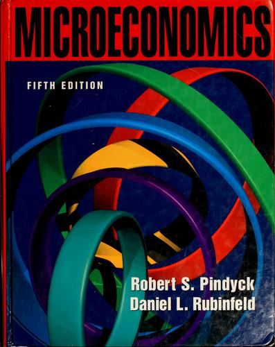 Microeconomics by Robert S. Pindyck