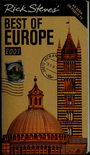Rick Steves' Best of Europe, 2001 by Rick Steves