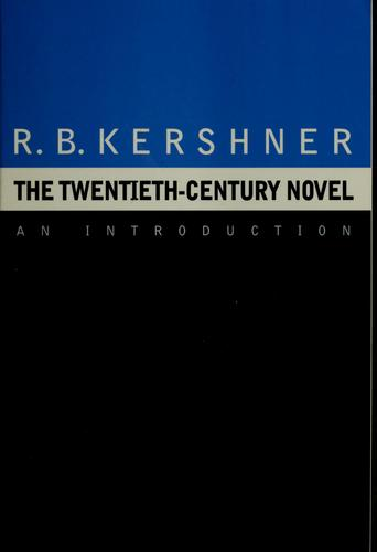 The twentieth-century novel by Richard Brandon Kershner
