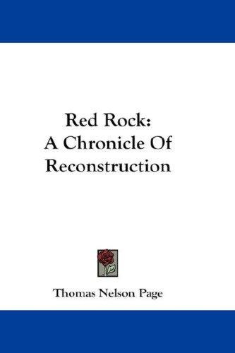 Red Rock by Thomas Nelson Page