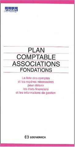 Plan comptable associations, fondations by KPMG