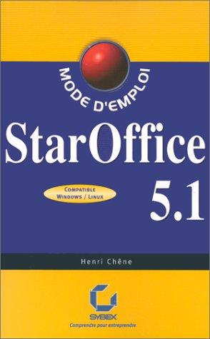 Staroffice 5.1 by Henri Chene
