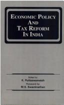Economic Policy and Tax Reform in India by Puttaswamaiah