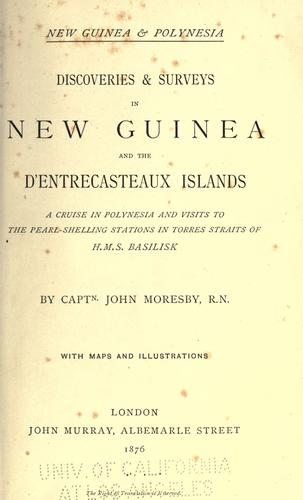 New Guinea & Polynesia.