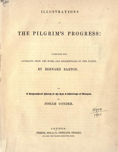 Illustrations of the Pilgrim's progress by Bernard Barton