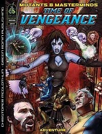 Time of Vengeance by Christopher McGlothlin