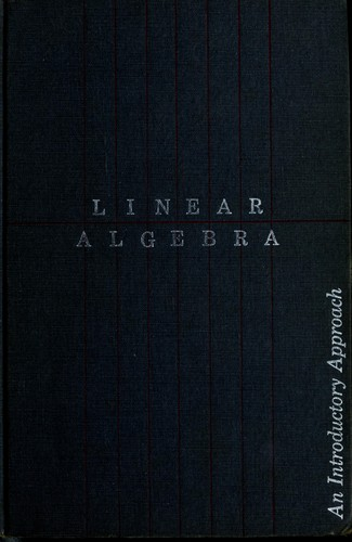 Linear algebra by Charles W. Curtis