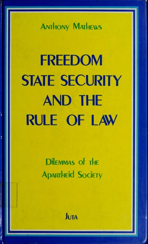 Freedom, state security, and the rule of law