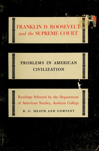 Franklin D. Roosevelt and the Supreme Court