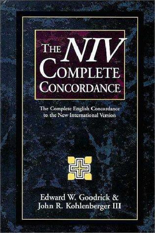 The NIV complete concordance
