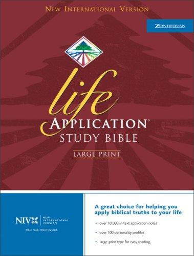 NIV Life Application Study Bible by Bruce B. Barton