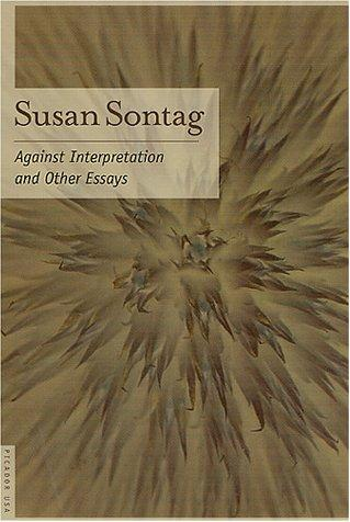 Against Interpretation