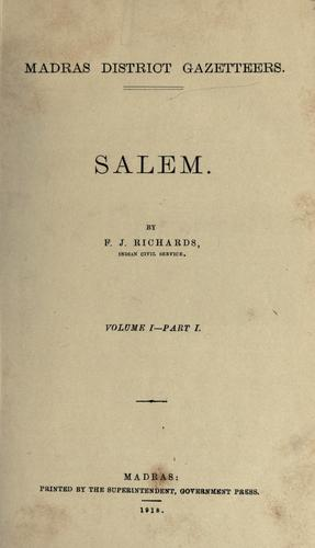 Salem by F. J. Richards