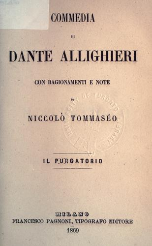 Commedia by Dante Alighieri
