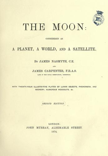 The moon by Nasmyth, James