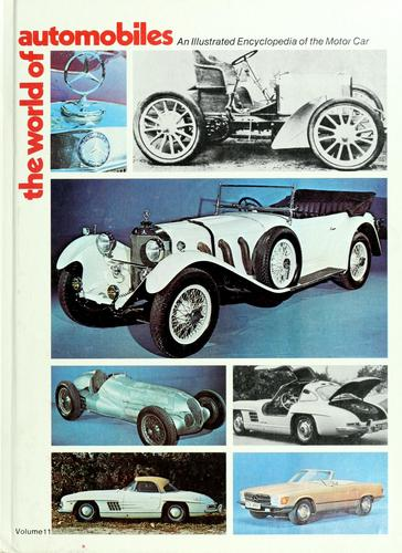 The World of automobiles by Ward, Ian