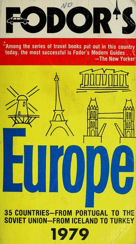 Fodor's Europe, 1979 by Eugene Fodor