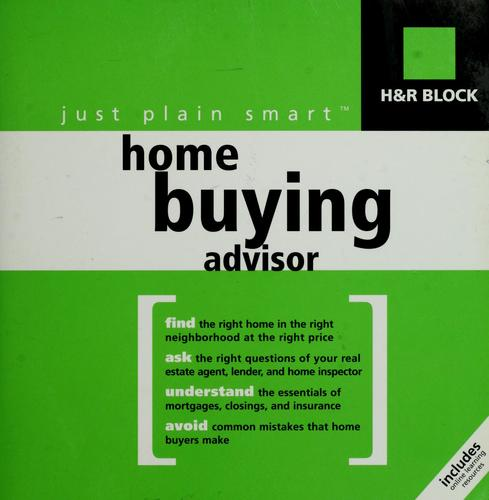 H & R Block just plain smart home buying advisor by H & R Block