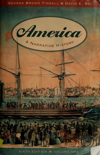 America by George Brown Tindall