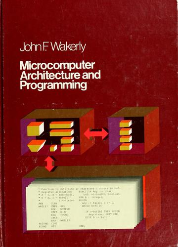 Microcomputer architecture and programming