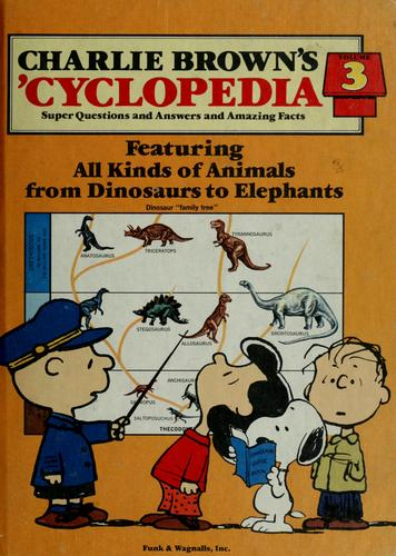 Charlie Brown's 'cyclopedia by Charles M. Schulz
