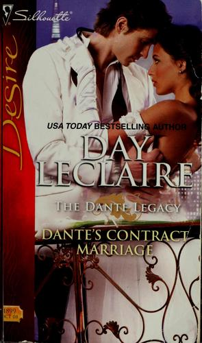 Dante's contract marriage by Day Leclaire