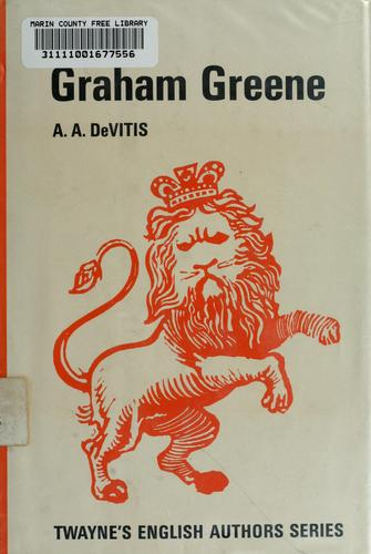 Graham Greene by A.A. DeVITIS