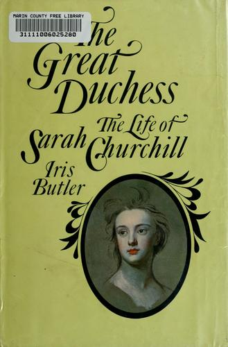 The great duchess by Iris Butler