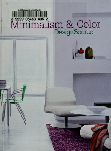 Minimalism & color designsource by Aitana Lleonart