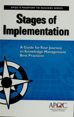 Stages of Implementation by Carla O'Dell