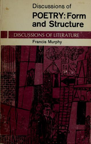 Discussions of poetry by Francis Murphy