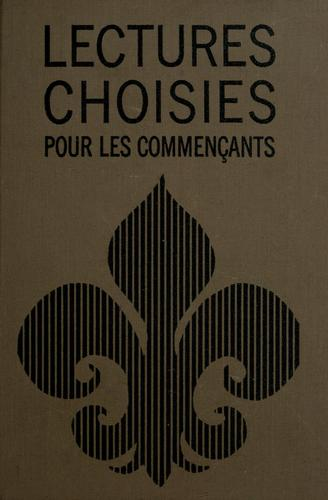 Lectures choisies pour les commençants by David Steinhauer