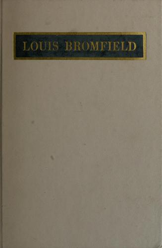 Louis Bromfield by David D. Anderson