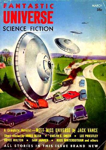 Fantastic Universe, March 1955 by