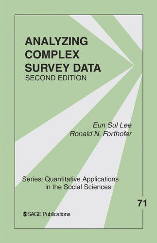Analyzing complex survey data