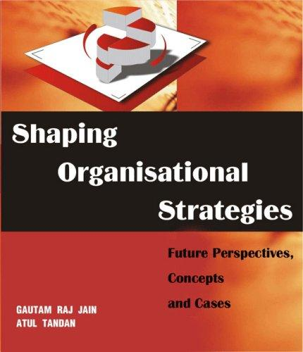 Shaping Organizational Strategies by Gautam Raj Jain