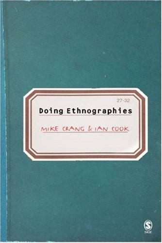 Doing ethnographies by