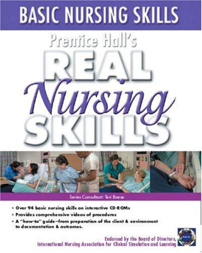 Prentice Hall Real Nursing Skills by Prentice-Hall