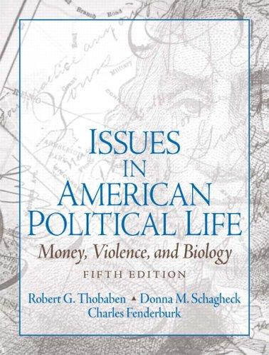 Issues in American political life