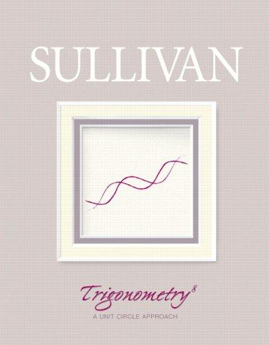 Trigonometry by Michael Joseph Sullivan Jr.
