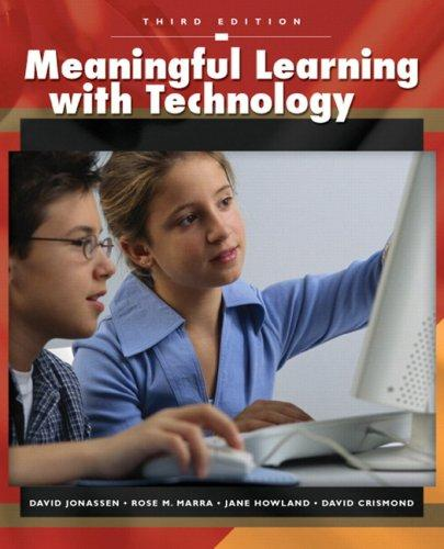 Meaningful Learning with Technology (3rd Edition)