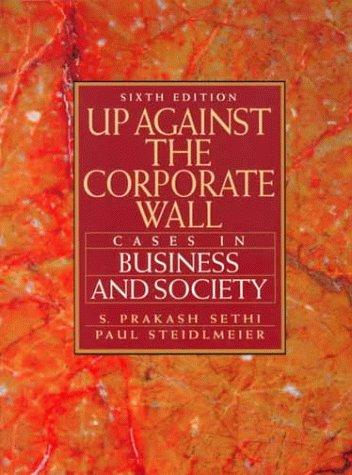 Up against the corporate wall