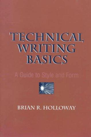 Technical Writing Basics